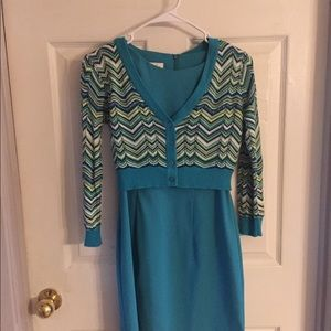 Two piece dress set